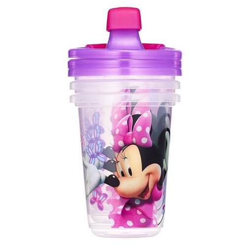 The First Years, Disney Minnie Mouse, Sippy Cups, 9+ Months, 3 Pack - 10 oz (296 ml) Review