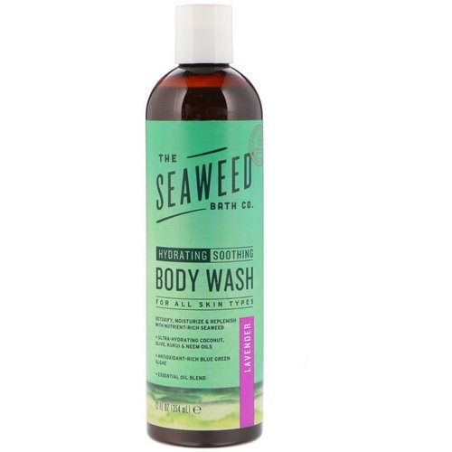 The Seaweed Bath Co, Hydrating Soothing Body Wash, Lavender, 12 fl oz (354 ml) Review