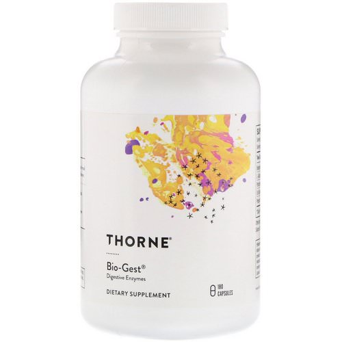 Thorne Research, Bio-Gest, 180 Capsules Review