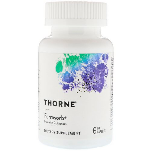 Thorne Research, Ferrasorb, 60 Capsules Review