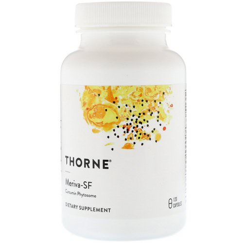Thorne Research, Meriva-SF, Curcumin Phytosome, 120 Capsules Review