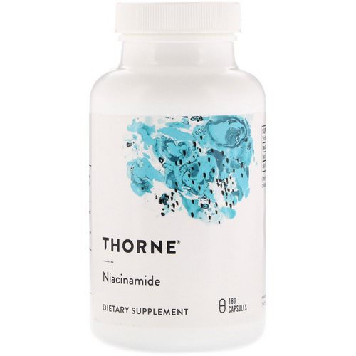 Thorne Research, Niacinamide, 180 Capsules Review