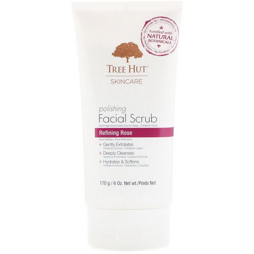 Tree Hut, Skincare, Polishing Facial Scrub, Refining Rose, 6 oz (170 g) Review