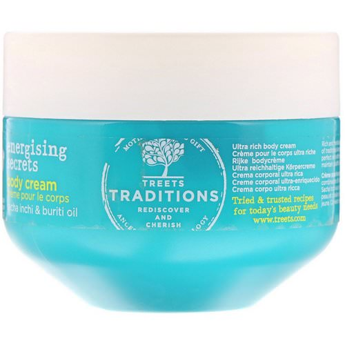 Treets, Energising Secrets, Body Cream, Passion Freshness, 8.45 fl oz (250 ml) Review