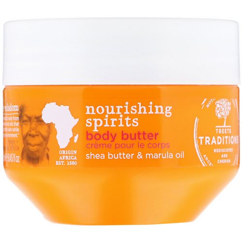 Treets, Nourishing Spirits, Body Butter, Shea Butter & Marula Oil, 8.45 fl oz (250 ml) Review