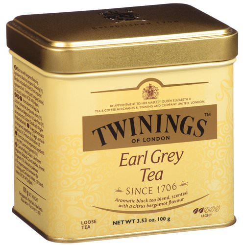 Twinings, Earl Grey Loose Tea, 3.53 oz (100 g) Review
