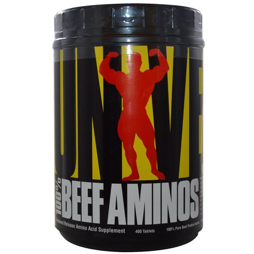 Universal Nutrition, 100% Beef Aminos, 400 Tablets Review