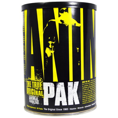 Universal Nutrition, The True Original, Animal Pak, Animal Training Packs, 30 Packs Review