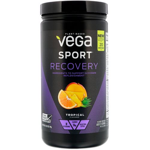 Vega, Sport, Recovery, Tropical Flavor, 1.2 lbs (540 g) Review