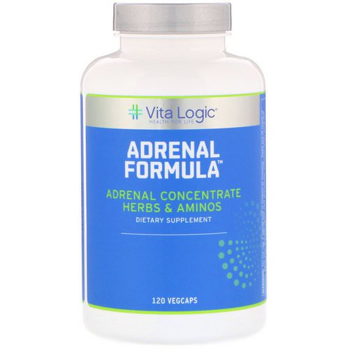 Vita Logic, Adrenal Formula, 120 Vegcaps Review