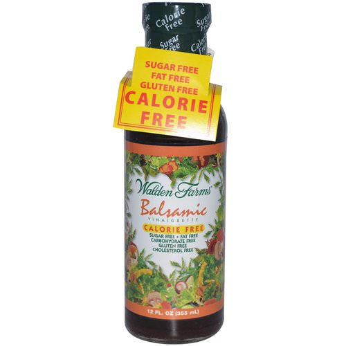 Walden Farms, Balsamic Vinaigrette, 12 fl oz (355 ml) Review