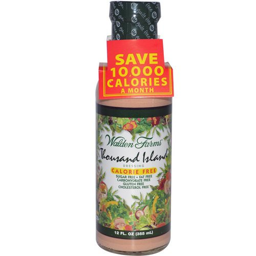 Walden Farms, Thousand Island Dressing, 12 fl oz (355 ml) Review