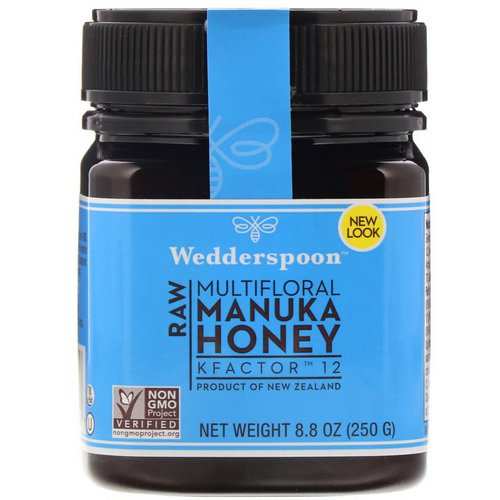 Wedderspoon, Raw Multifloral Manuka Honey, KFactor 12, 8.8 oz (250 g) Review