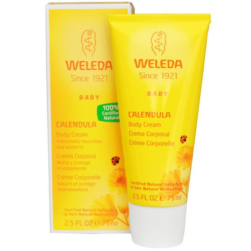 Weleda, Baby Body Cream, Calendula, 2.5 fl oz (75 ml) Review