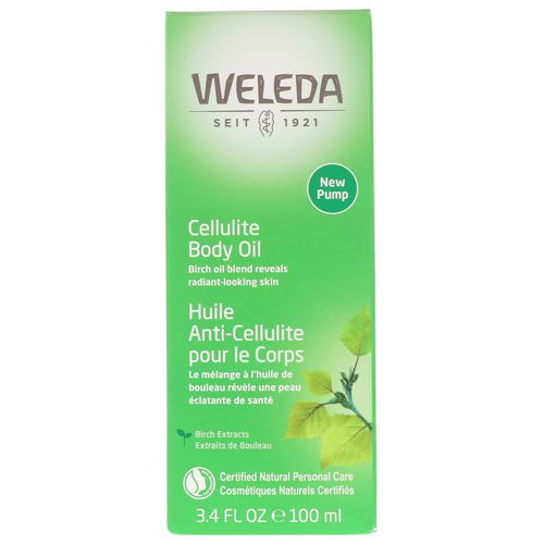 Weleda, Cellulite Body Oil, Almond Extracts, Sensitive Skin, 3.4 fl oz (100 ml) Review