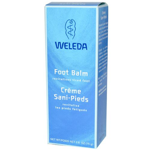 Weleda, Foot Balm, 2.6 oz (75 g) Review