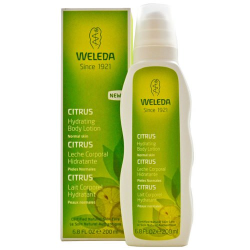Weleda, Hydrating Body Lotion, Normal Skin, Citrus, 6.8 fl oz (200 ml) Review