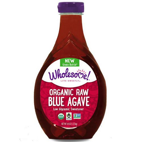 Wholesome, Organic Raw Blue Agave, 44 oz (1.25 kg) Review