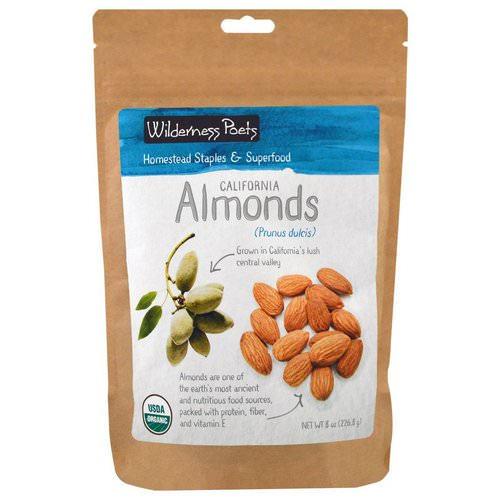 Wilderness Poets, California Almonds, 8 oz (226.8 g) Review