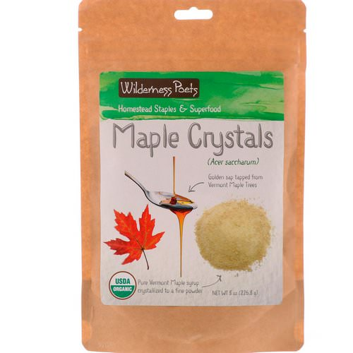 Wilderness Poets, Maple Crystals, 8 oz (226.8 g) Review