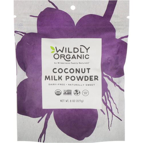 Wildly Organic, Coconut Milk Powder, 8 oz (227 g) Review