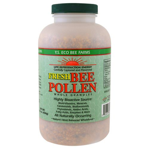 Y.S. Eco Bee Farms, Fresh Bee Pollen Whole Granules, 16.0 oz (454 g) Review