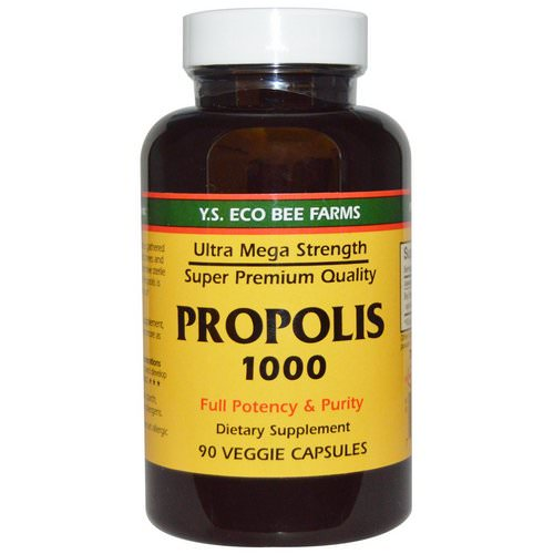 Y.S. Eco Bee Farms, Propolis 1000, 500 mg, 90 Veggie Caps Review