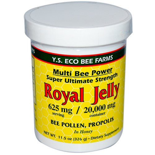 Y.S. Eco Bee Farms, Royal Jelly, 11.5 oz (326 g) Review