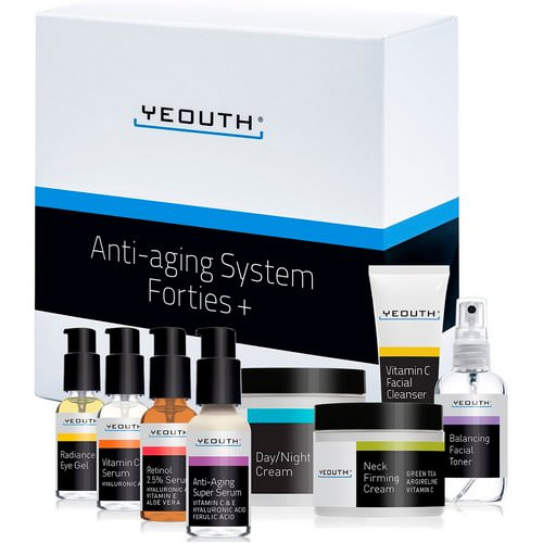 Yeouth, Anti-Aging System, Forties +, 8 Piece Set Review