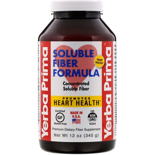 Yerba Prima, Soluble Fiber Formula, 12 oz (340 g) Review