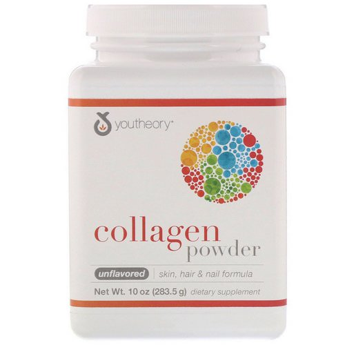 Youtheory, Collagen Powder, Unflavored, 10 oz (283.5 g) Review