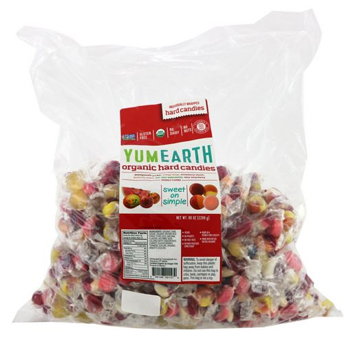 YumEarth, Organic Hard Candies, Assorted Flavors, 5 lbs (2268 g) Review