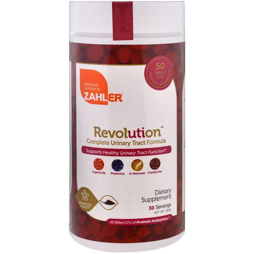 Zahler, Revolution, Complete Urinary Tract Formula, 180 g Review