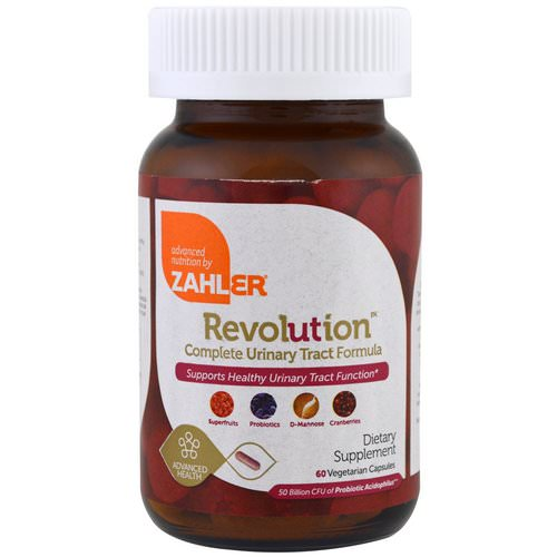Zahler, Revolution, Complete Urinary Tract Formula, 60 Vegetarian Capsules Review