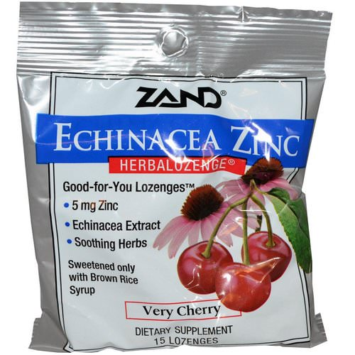 Zand, Echinacea Zinc, Herbalozenge, Very Cherry, 15 Lozenges Review