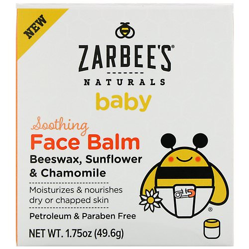 Zarbee's, Baby, Soothing Face Balm, 1.75 oz (49.6 oz) Review