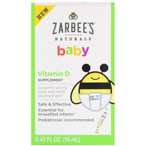 Zarbee's, Baby, Vitamin D, 0.47 fl oz (14 ml) Review