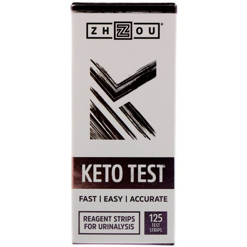 Zhou Nutrition, Keto Test, 125 Test Strips Review