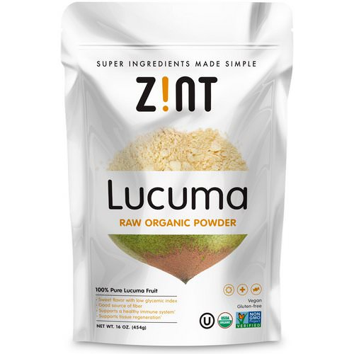 Zint, Lucuma, Raw Organic Powder, 16 oz (454 g) Review
