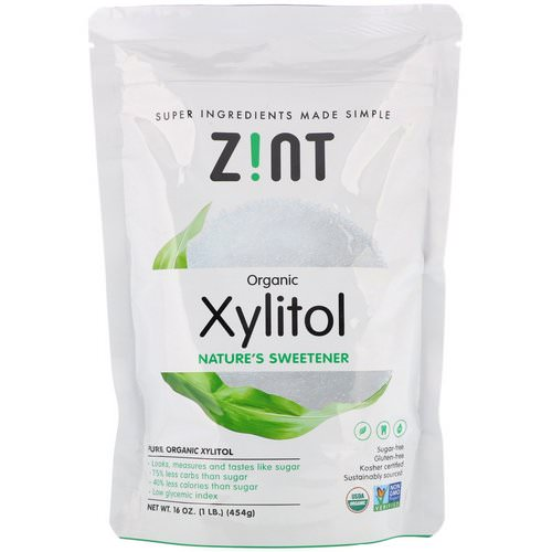 Zint, Organic Xylitol, Nature's Sweetener, 16 oz (454 g) Review
