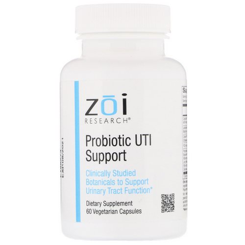 ZOI Research, Probiotic UTI Support, 60 Vegetarian Capsules Review